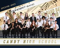 Concert Band team