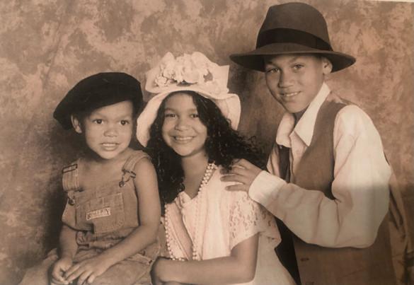 Chris, Jasmine and Nick
