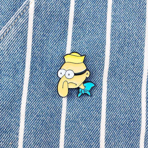 Barnacle Boy Pin