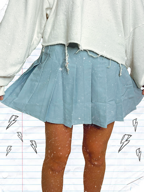 Motel Pleated Skirt