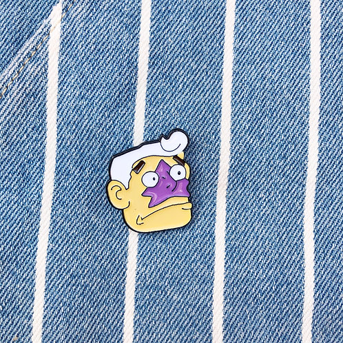 Mermaid Man Pin