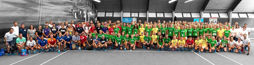 uniexperts Tennis Showcase 2018 - group