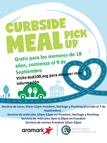 Curbside Meal Pick Up Flyer Spanish.png