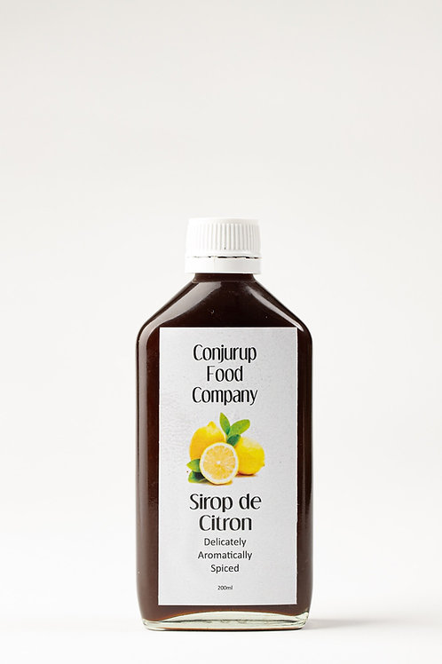 Sirop de Citron Aromatic  Tangy Lemon Jam