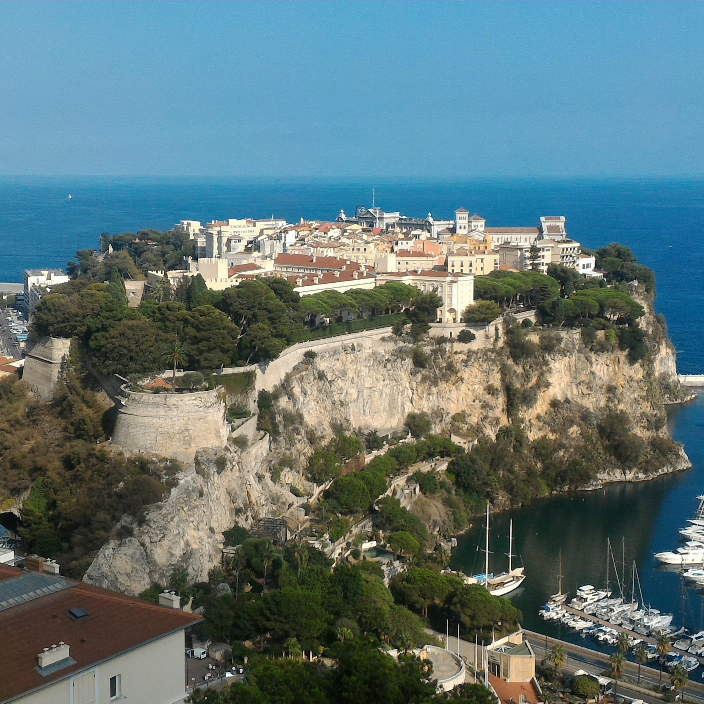 Monaco - Depuis Nice en train