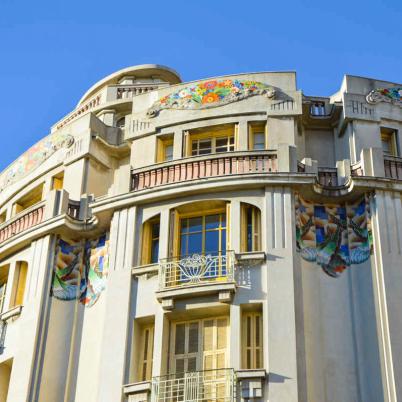 Nice - Les façades Art'Deco