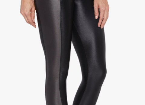 Koral: Chase Midrise Infinity Legging in Black/Lead