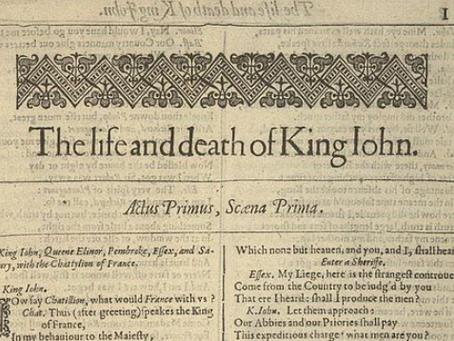 13. King John