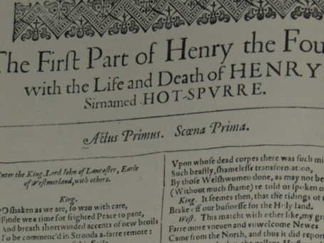 15. Henry IV: Part 1