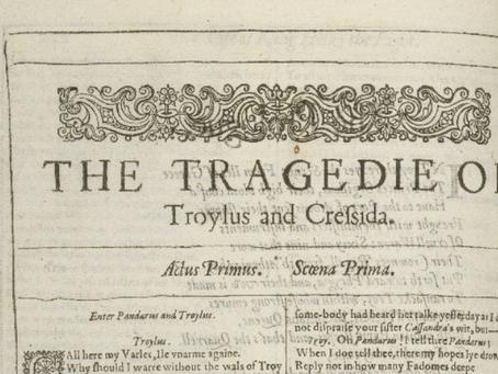 24. Troilus and Cressida