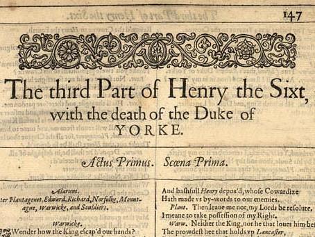 3. Henry VI: Part III