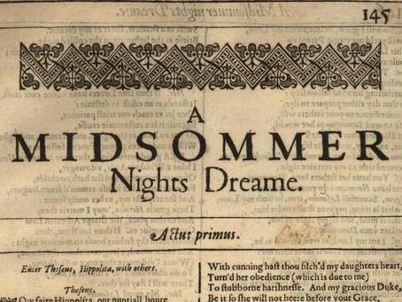 10. A Midsummer Night's Dream