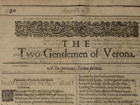4. The Two Gentlemen of Verona