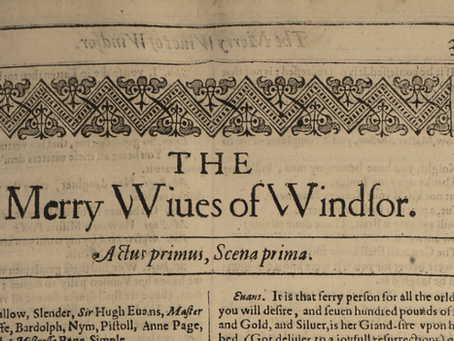 22. The Merry Wives Of Windsor