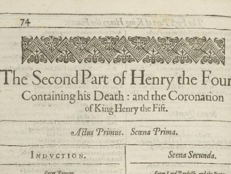 16. Henry IV Part 2