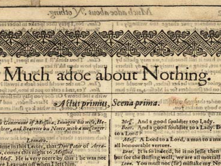 17. Much Ado About Nothing