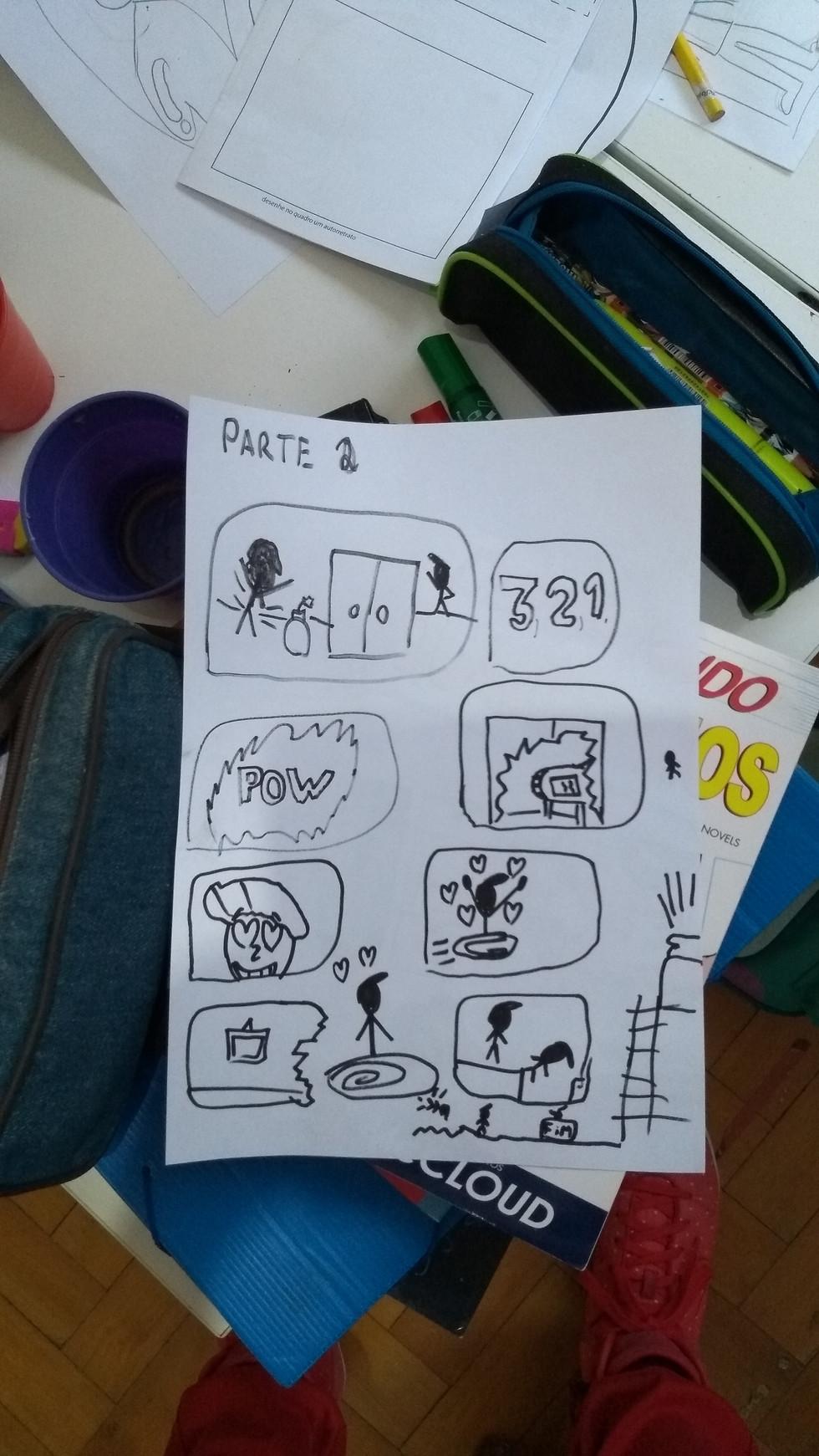 Oficina Meu Diário em Quadrinhos