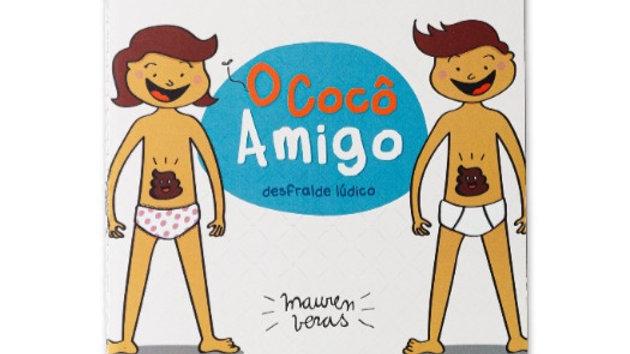 Livro infantil O Cocô Amigo - desfralde lúdico