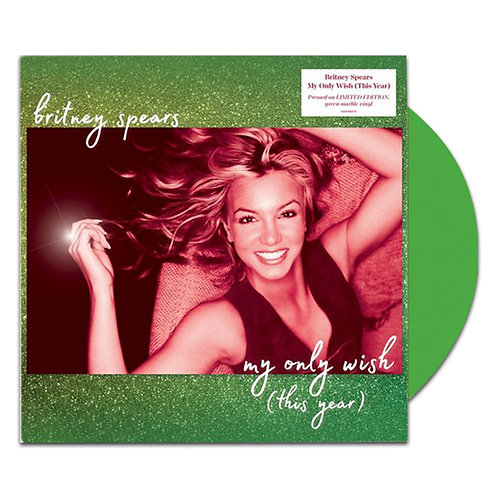 LP BRITNEY SPEARS - MY ONLY WISH (THIS YEAR) LIMITED