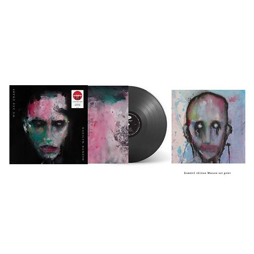 LP MARILYN MANSON - WE ARE CHAOS (TARGET EXCLUSIVE)