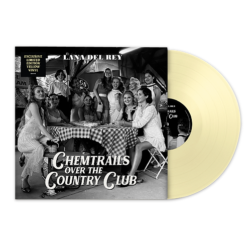 LP LANA DEL REY - CHEMTRAILS OVER THE COUNTRY CLUB (EXCLUSIVE YELLOW DISC)