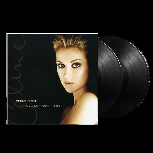 LP CELINE DION - LET`S TALK ABOUT LOVE (2XLP)