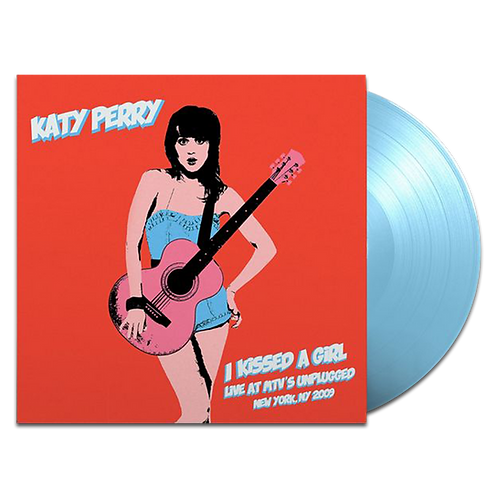 LP KATY PERRY - I KISSED A GIRL LIVE AT MTV'S UNPLUGGED