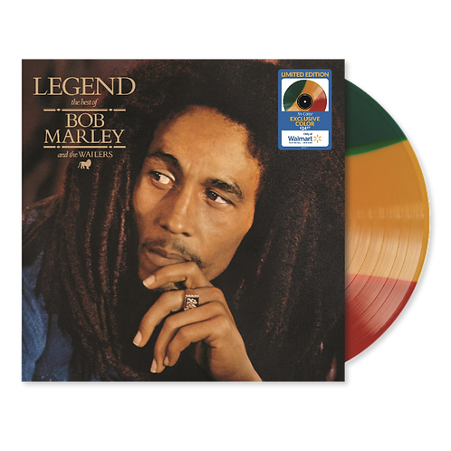 LP BOB MARLEY - LEGEND (THE BEST OF) WALMART EXCLUSIVE TRI-COLOR