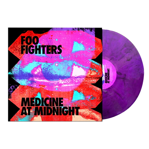 LP FOO FIGHTERS - MEDICINE AT MIDNIGHT LIMITED EXCLUSIVE PURPLE SMOKE VINYL