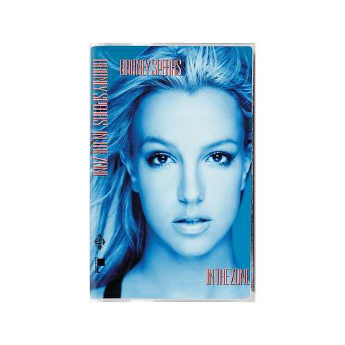 CASSETTE TAPE BRITNEY SPEARS - IN THE ZONE LIMITED