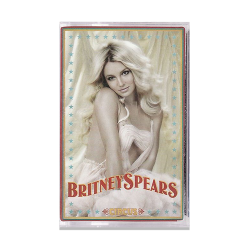 CASSETTE TAPE BRITNEY SPEARS - CIRCUS