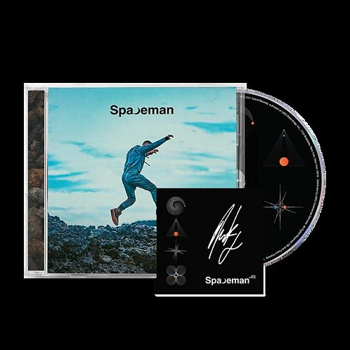 CD NICK JONAS - SPACEMAN (CARD AUTOGRAFADO)