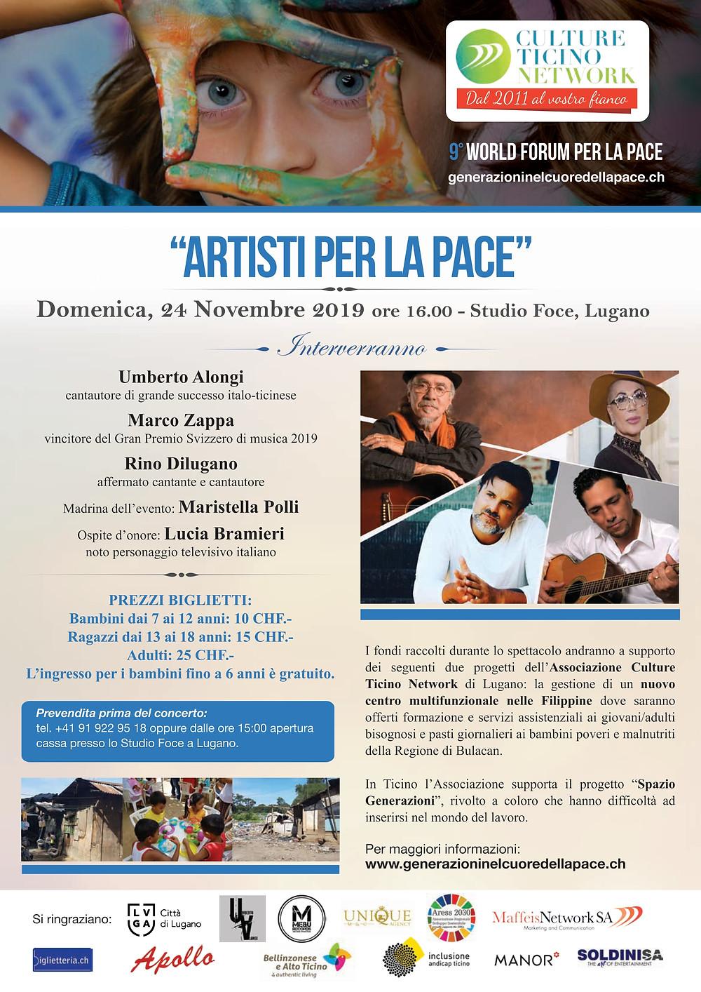 Studio Foce Lugano - 24.11.19 alle ore 16:00