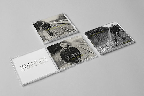 3 MINUTI - cd fisico con dedica