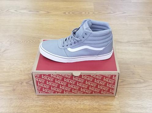 a422fa9136 Vans Ward HI (Canvas) Shoes Drizzle Marshmallow 9
