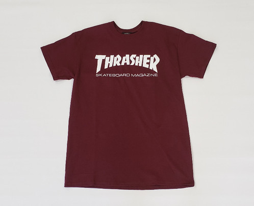 974dd146 Thrasher Skate Mag Medium T-Shirt - Maroon