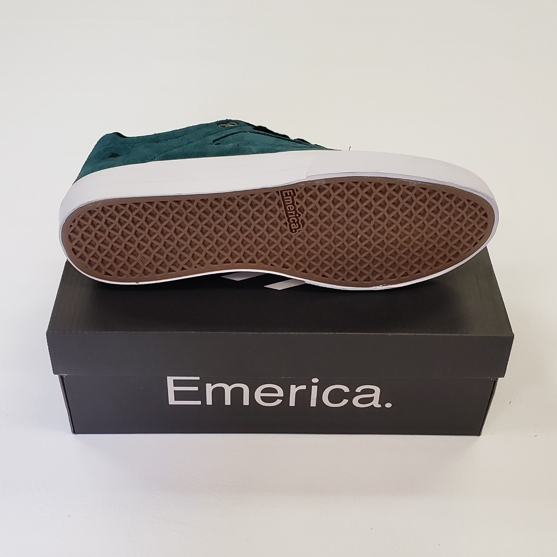 4ce6965ad66 Emerica Reynolds 3 G6 Vulc Shoes Teal Black 10.5