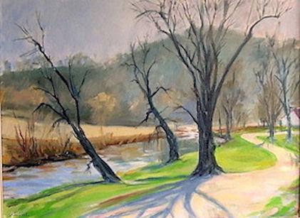 Laruel Creek    18 x 24 Oil