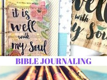 Bible Journal Workshop