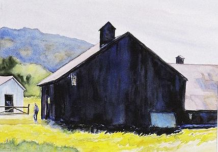 Amish Barn  20 x 30 oil
