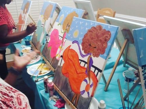 Cruise Diva Painting