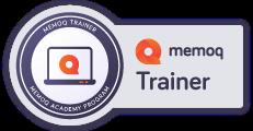 memoQ Trainer