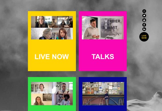 Home Page - virtual Verbier Art Summit (