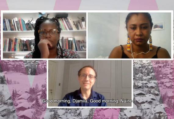 São Paulo Debate - Djamila Ribeiro, Nai