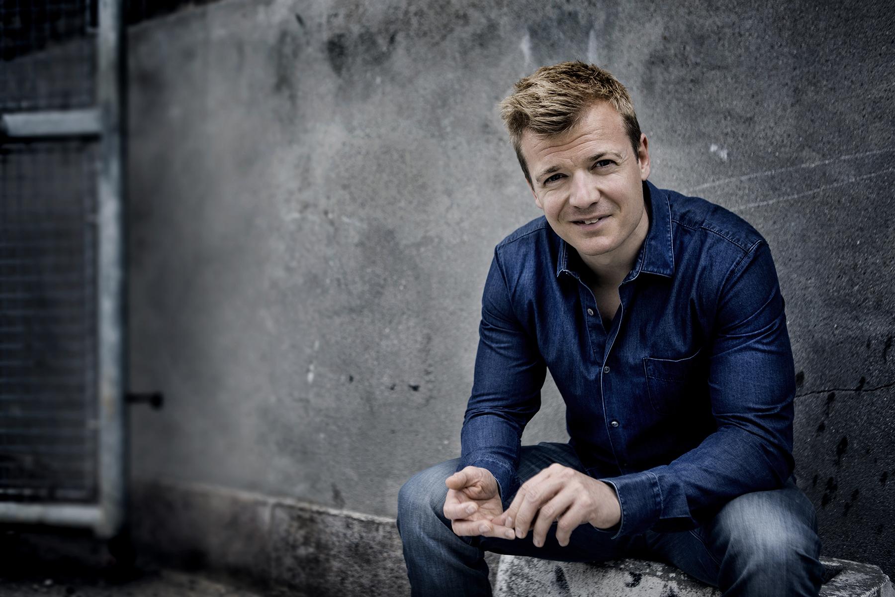 Danish comedian Tobias Dybvad
