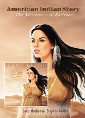 American Indian Story Book & CD Combo