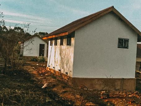 Fertigstellung der Schultoiletten