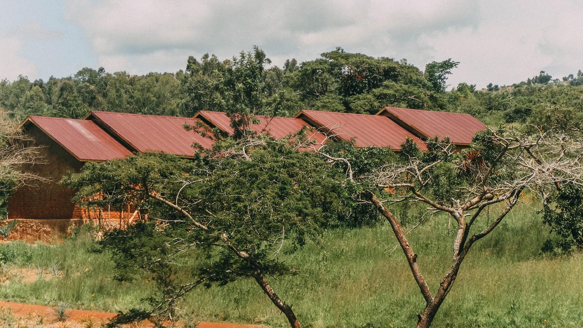 06/19 - Das Schulgebäude während der Bauarbeiten