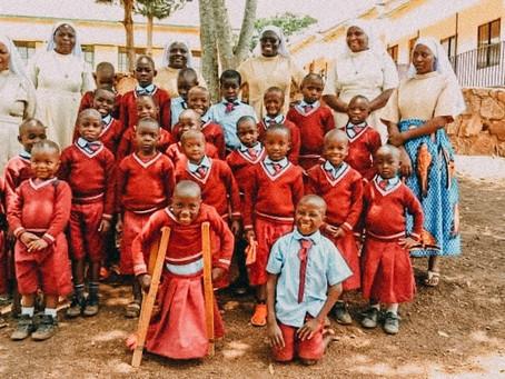 Grüße von den Schulkindern aus Chabalisa