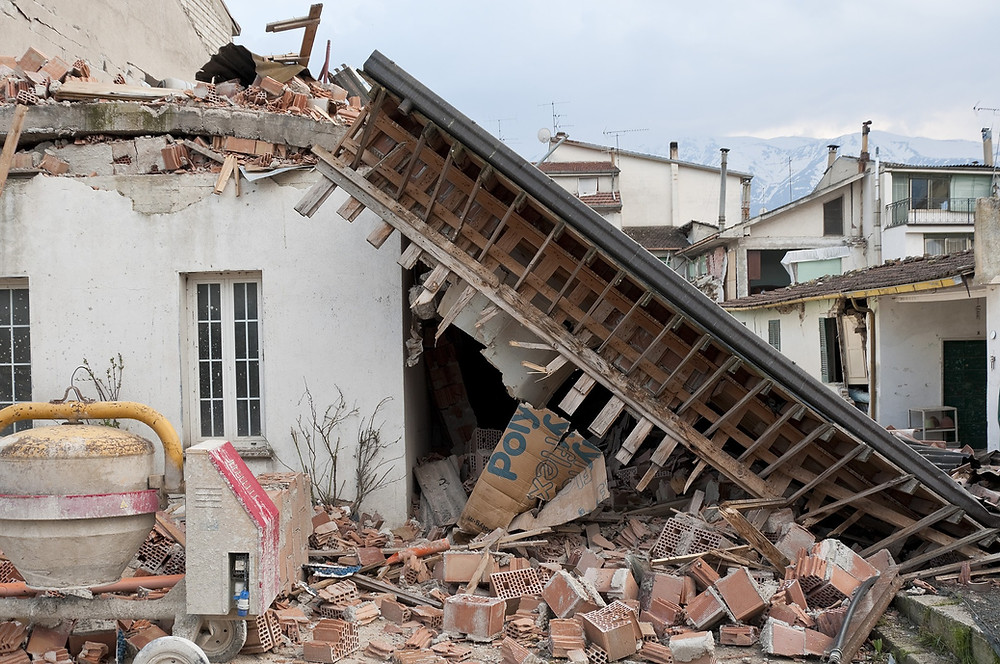 effondrement immeuble